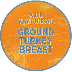 All Natural Ground Turkey Breast
