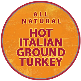 Hot Italian All Natural Ground Turkey