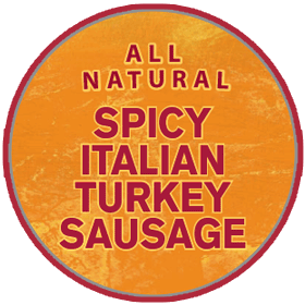 Spicy Italian Turkey Sausage