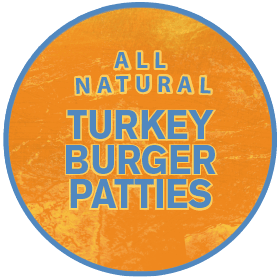 All Natural Turkey Burger Patties